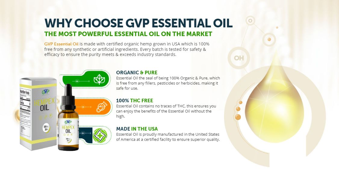 GVP Hempex Oil 1