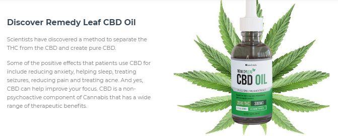 Remedy Leaf CBD Oil 1