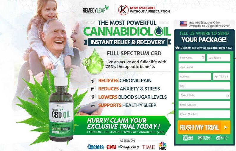 Remedy Leaf CBD Oil 2