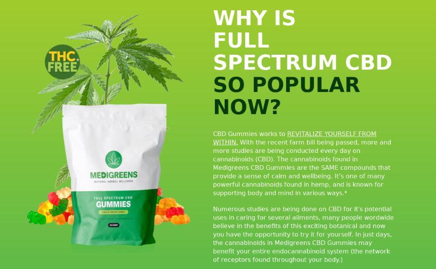 MediGreens CBD Gummies 1