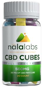 NalaLabs CBD Cubes