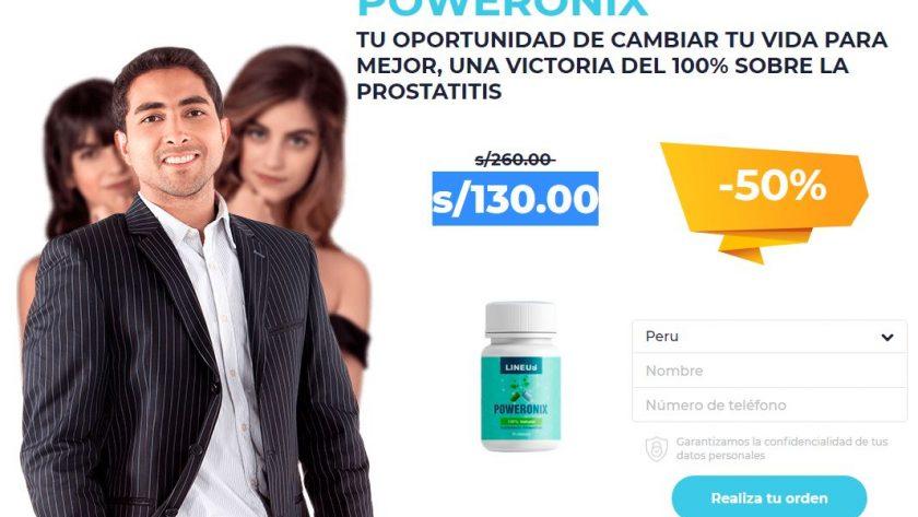 Poweronix Reseñas {Peru} - Pastillas Para la Próstata Saludable! Precio
