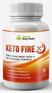 Divine Body Health Keto Fire X3