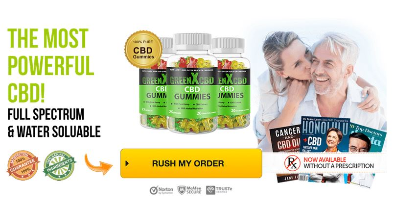 CBD GreenX Gummies 1