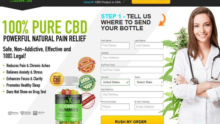 CBD GreenX Gummies 2