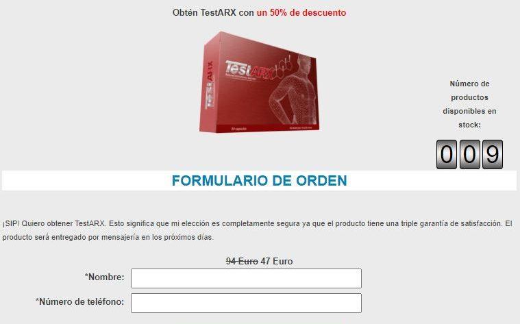 TestARX 1