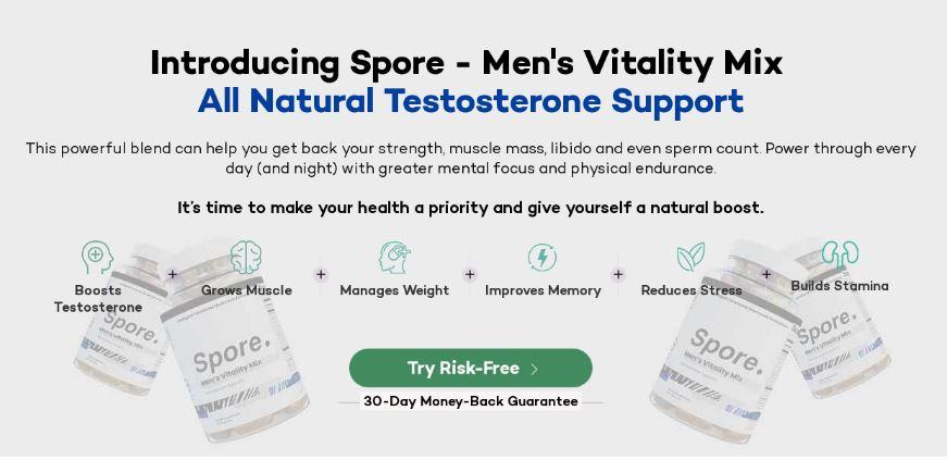 Spore Men's Vitality Mix 2